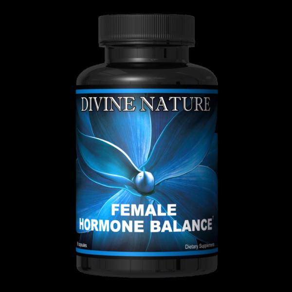 female hormone balance divine nature