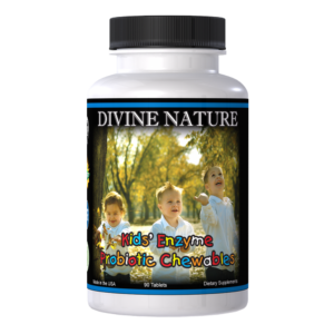 kids enzymes and probiotics divine nature